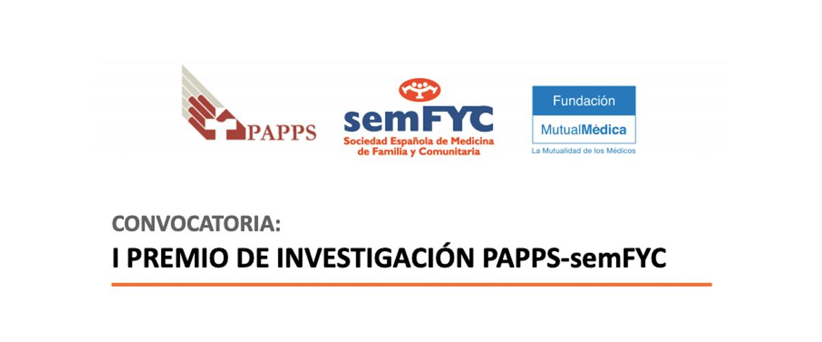 PREMIO de INVESTIGACIÓN PAPPS-semFYC